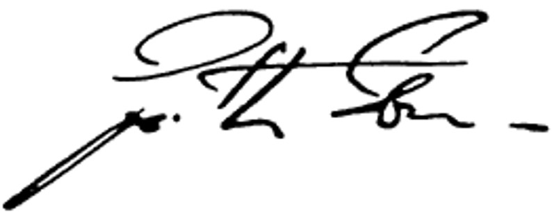 Garth Eaton's signature